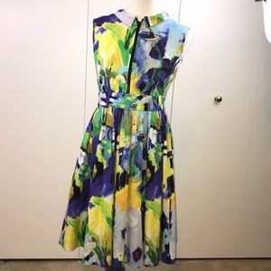 Kate Spade New York 6 Carrisa dress painterly